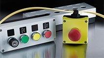 Betjeningsmateriell, brytere og signalenheter