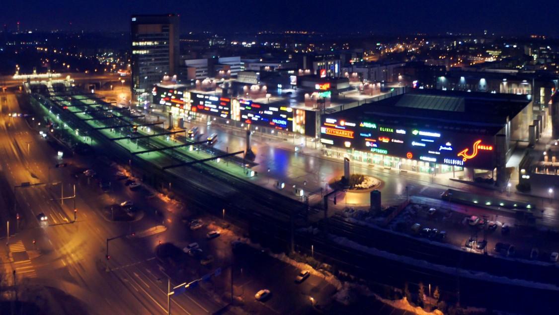 Sello shopping center in Finland