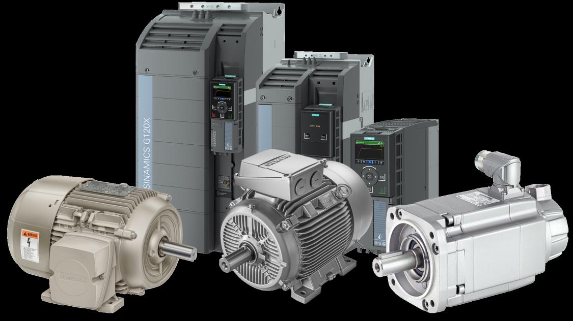 sinamics g120x standard motors