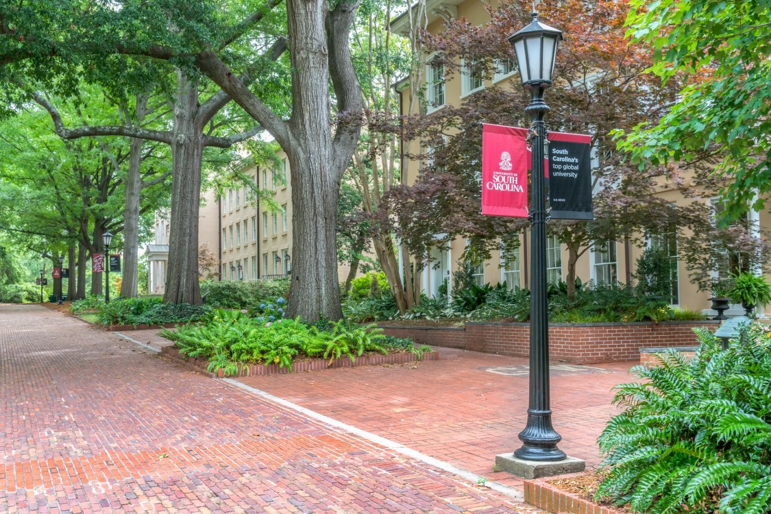Columbia campus with secure supply