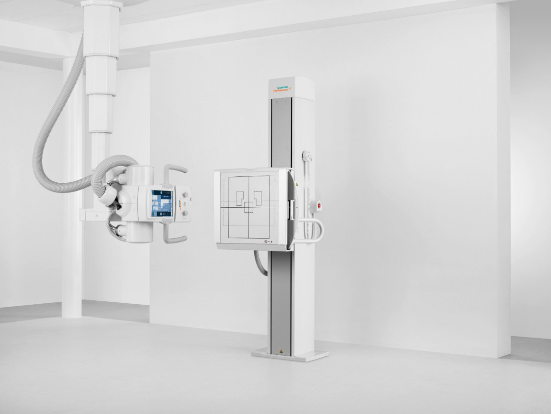 Digital radiography machine as example for medical applications with SIMATIC MICRO-DRIVE