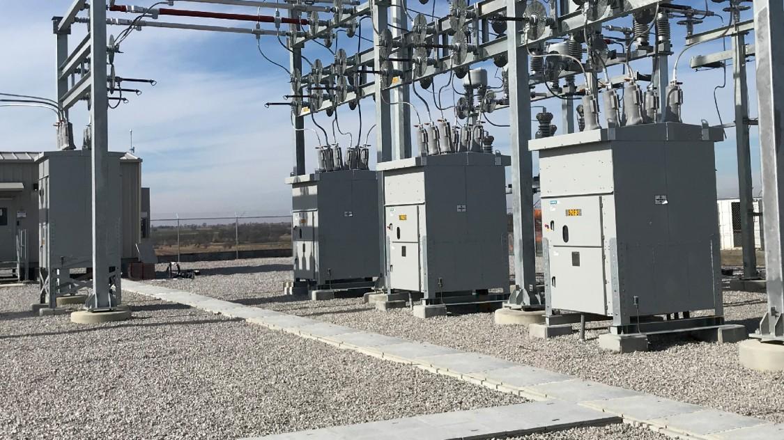 SDV-R medium-voltage circuit breakers installed in a wind farm application