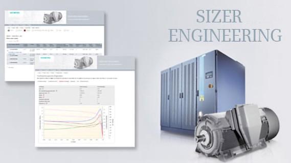 SIZER engineering tool image