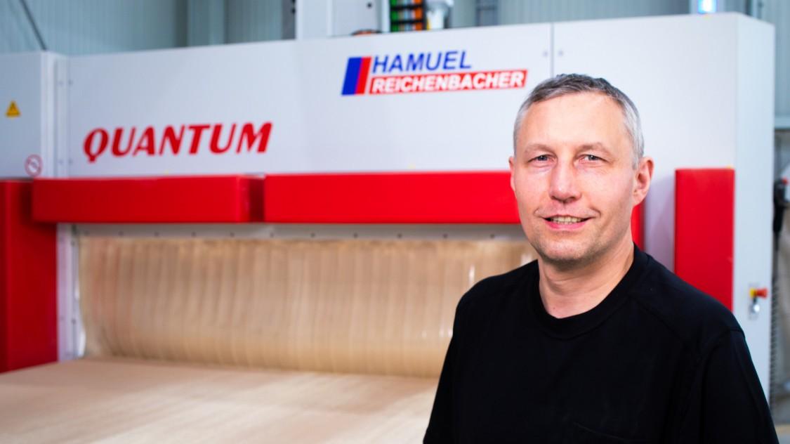 Maschinenserie der Firma Reichenbacher Hamuel