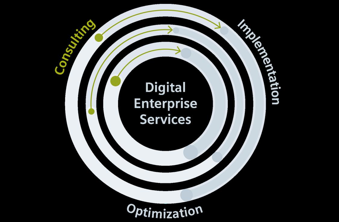 Optimale individuelle Vorbereitung, Planung und Durchführung der digitalen Transformation für Unternehmen der Prozessindustrie.