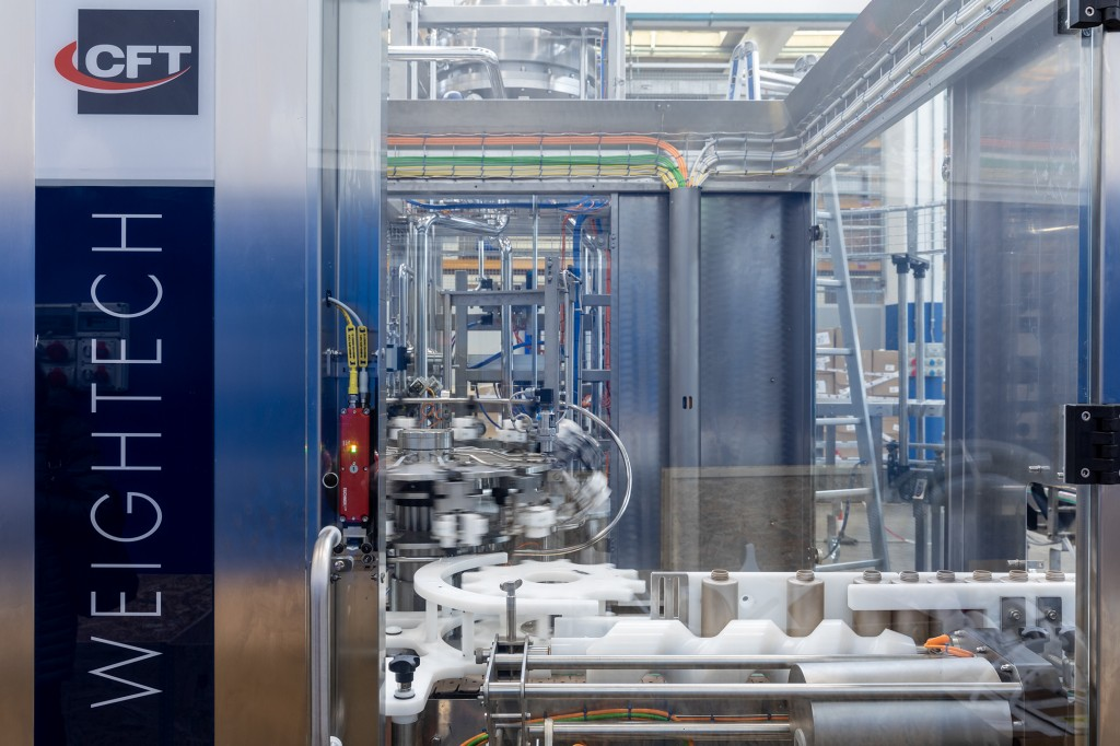 Filling process 4.0 – Plant builder relies on Siemens motion control