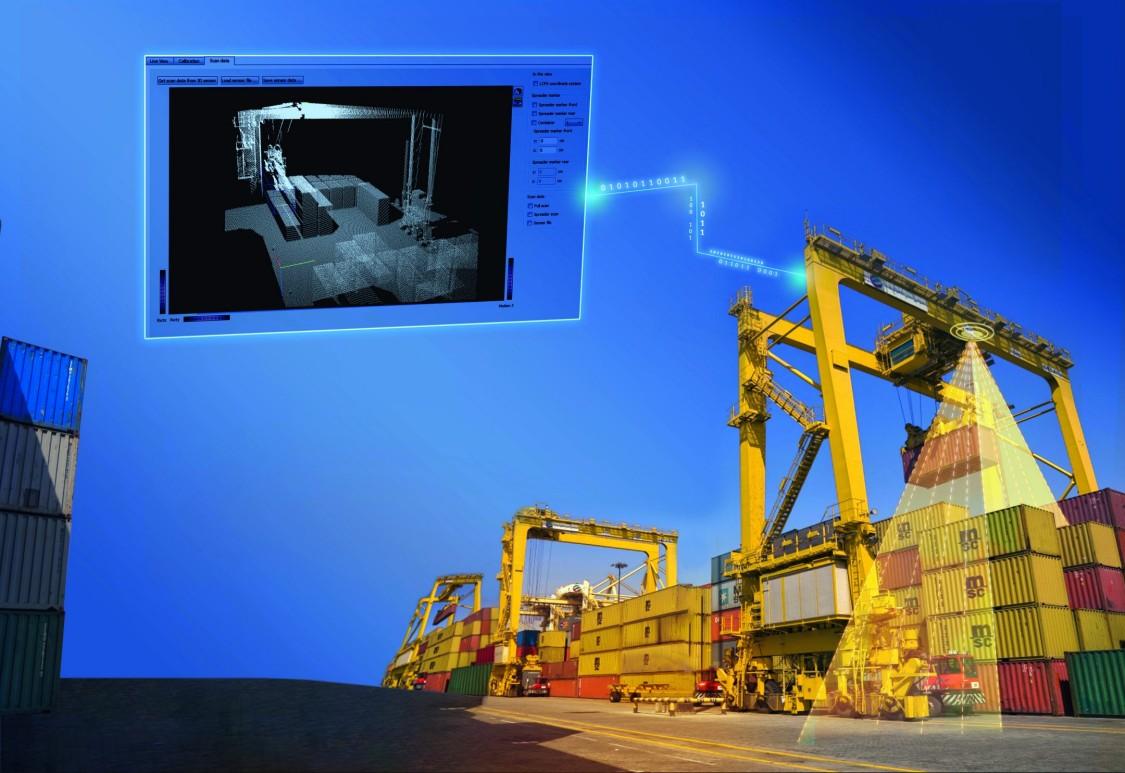 Key visual Industry Cranes Load collision prevention system