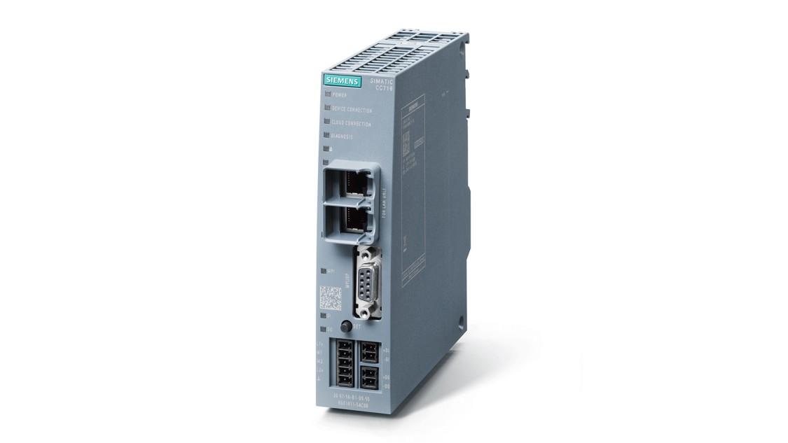 Industrial IoT Gateway SIMATIC CloudConnect 7 zur Anbindung an unterschiedlichste Cloud-Plattformen.