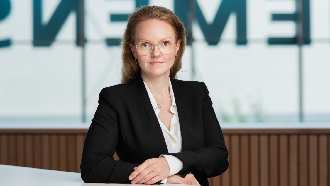 Elin Nordmark, Head of Product Management and Promotion, Factory Automation, Siemens