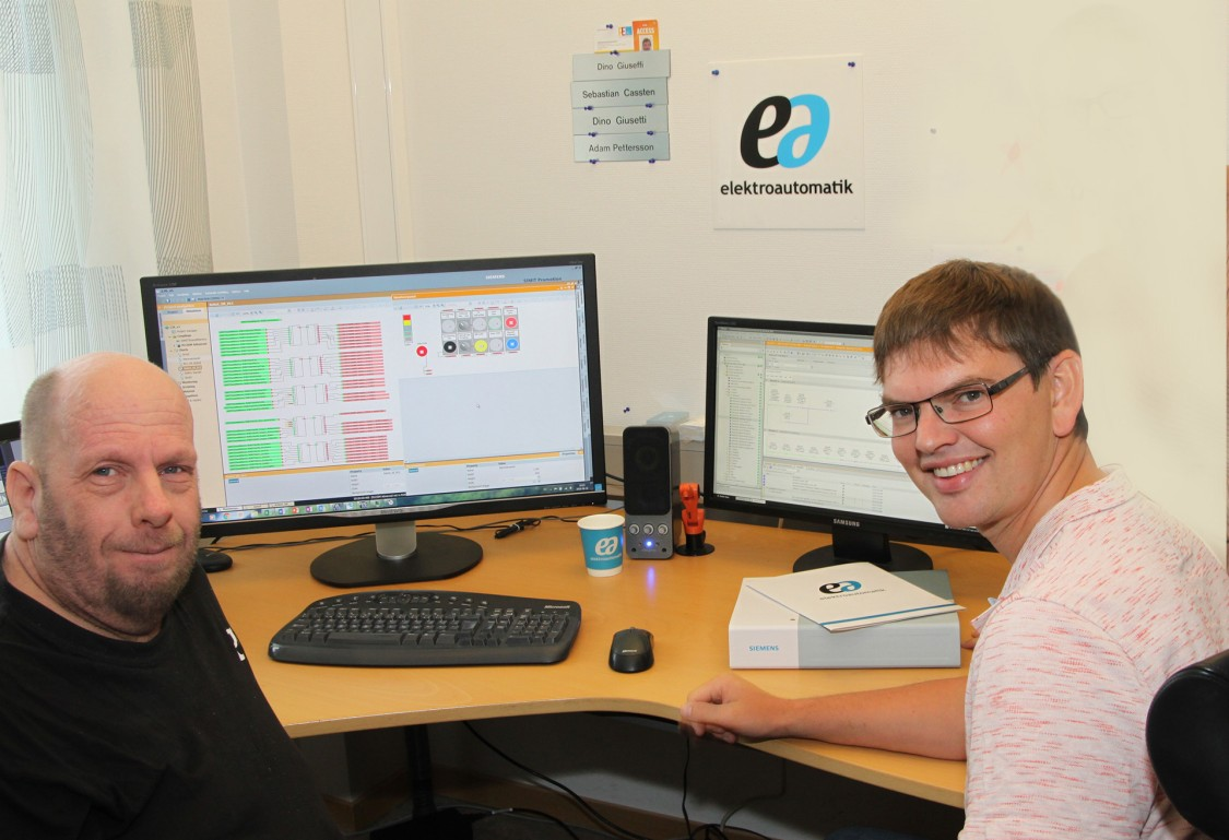 Elektroautomatik digitaliserar arbetssättet med SIMIT