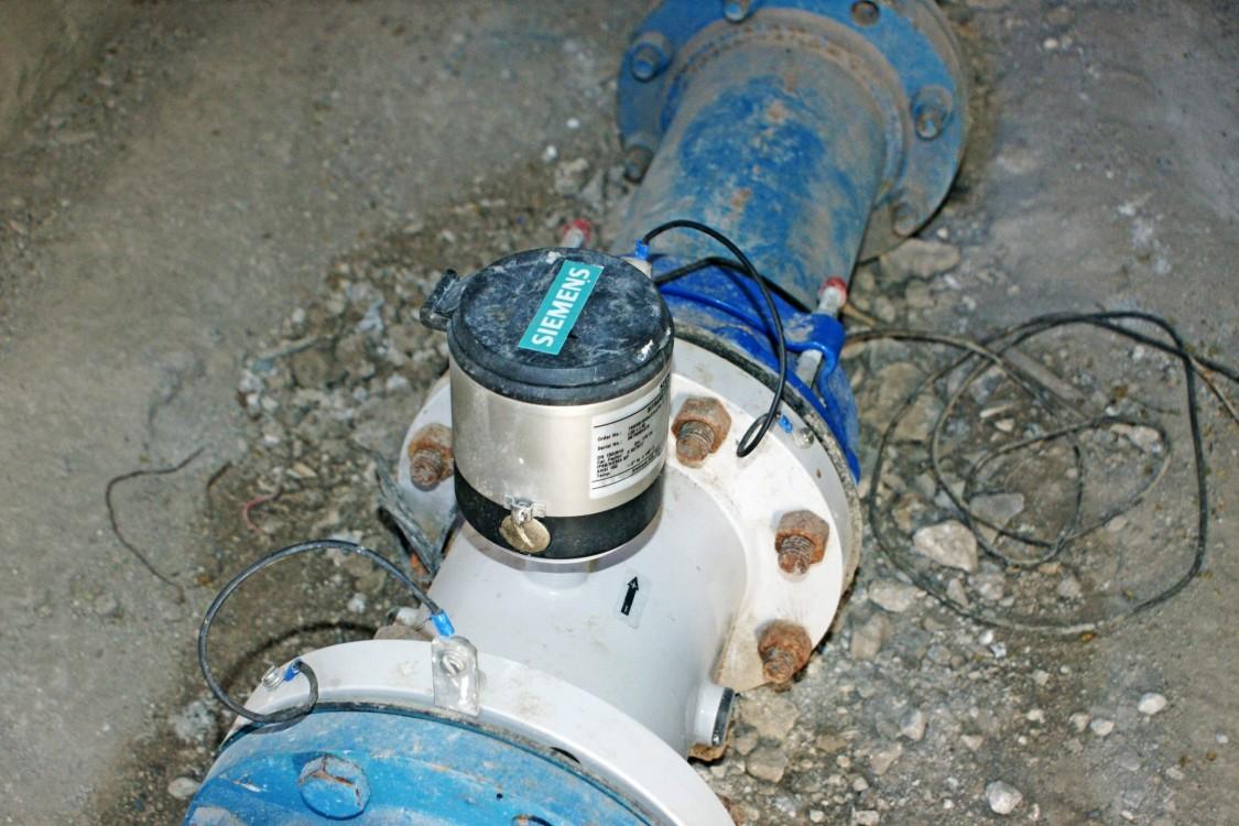 Aguas de Saltillo: SITRANS F M MAG 8000 Durchflussmessgerät