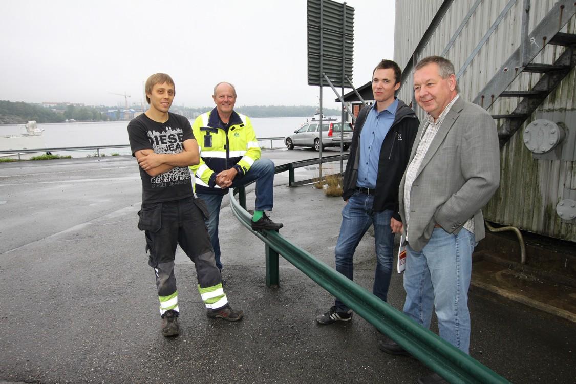 Stockholms Hamn förbättrar säkerhet och miljö med integrerad automationslösning från Siemens
