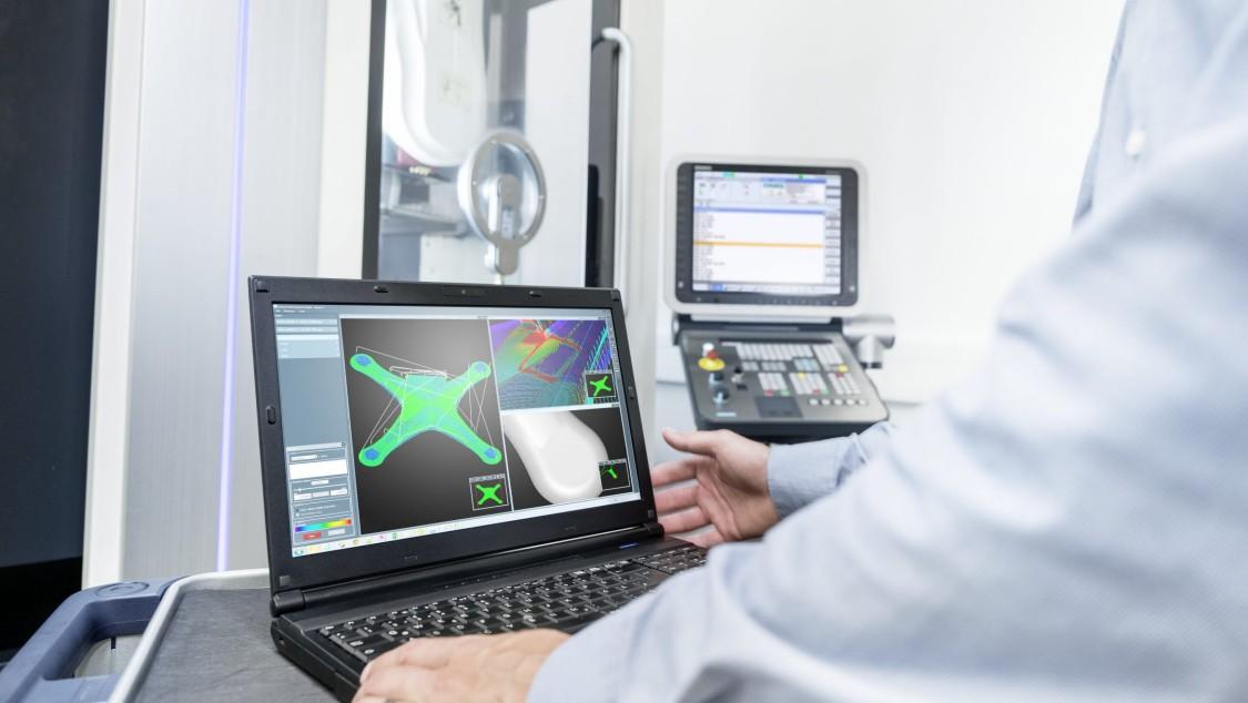 Software für die Werkzeugmaschinen ermöglichen eine Optimierung Bearbeitungsprozesse