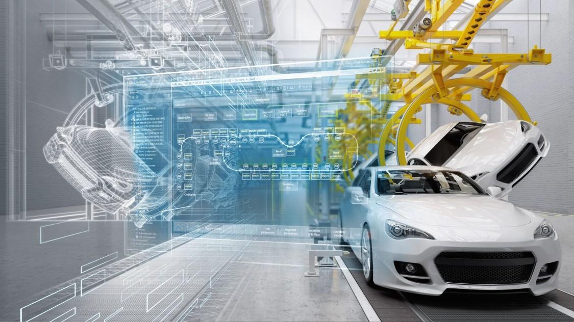 Key visual automobilindustrie