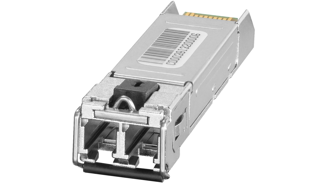 Plug-in transceiver for SCALANCE