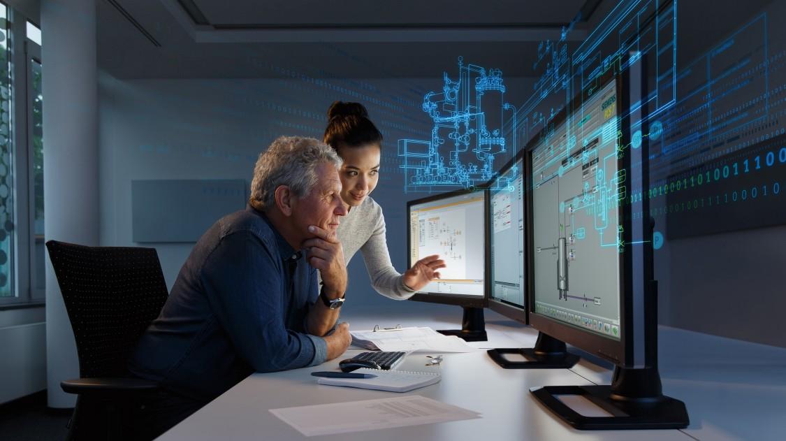 Key visual SIMIT simulation software