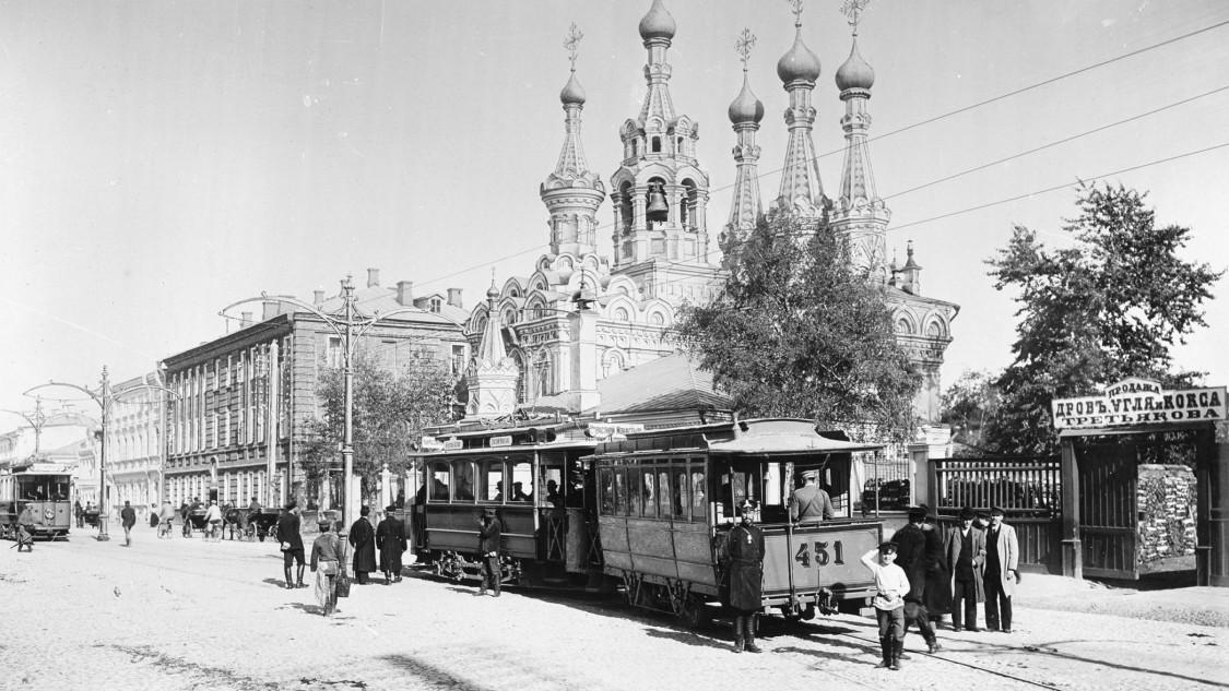 Straßenbahn Moskau, 1899
