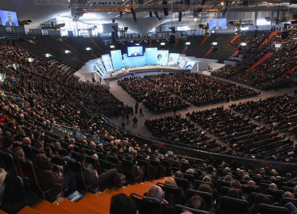 Annual Shareholders' Meeting in the Olympiahalle Munich