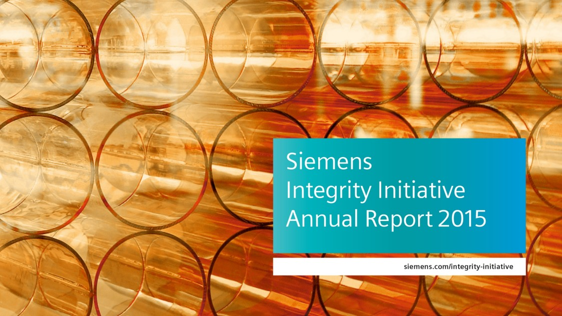 Siemens Integrity Report 2015