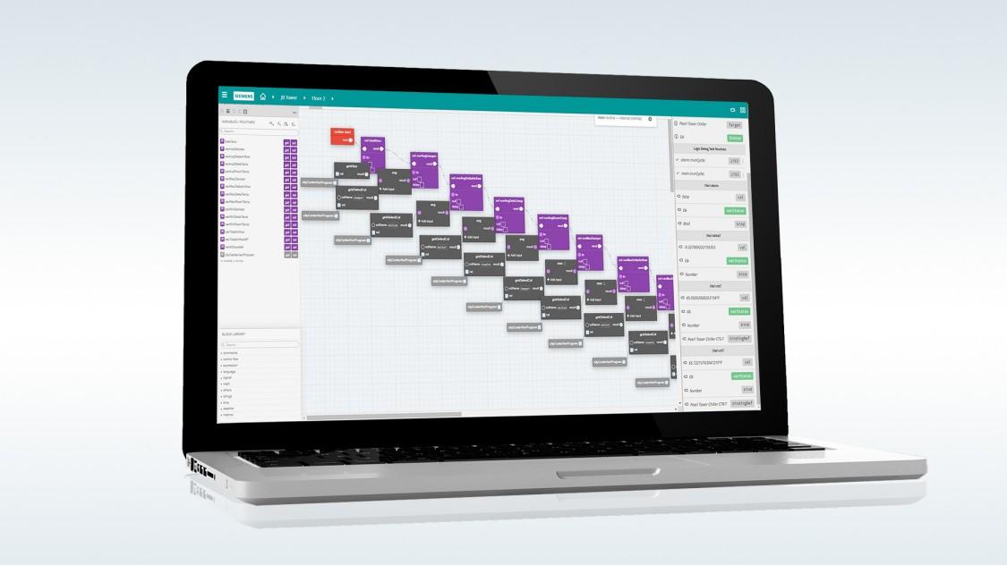 Desigo Optic utilizes FIN Logic Builder app uses native tagging