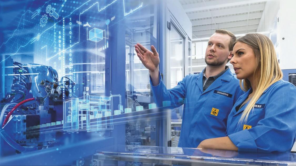 Digital factory: Electronics Works Amberg (EWA)