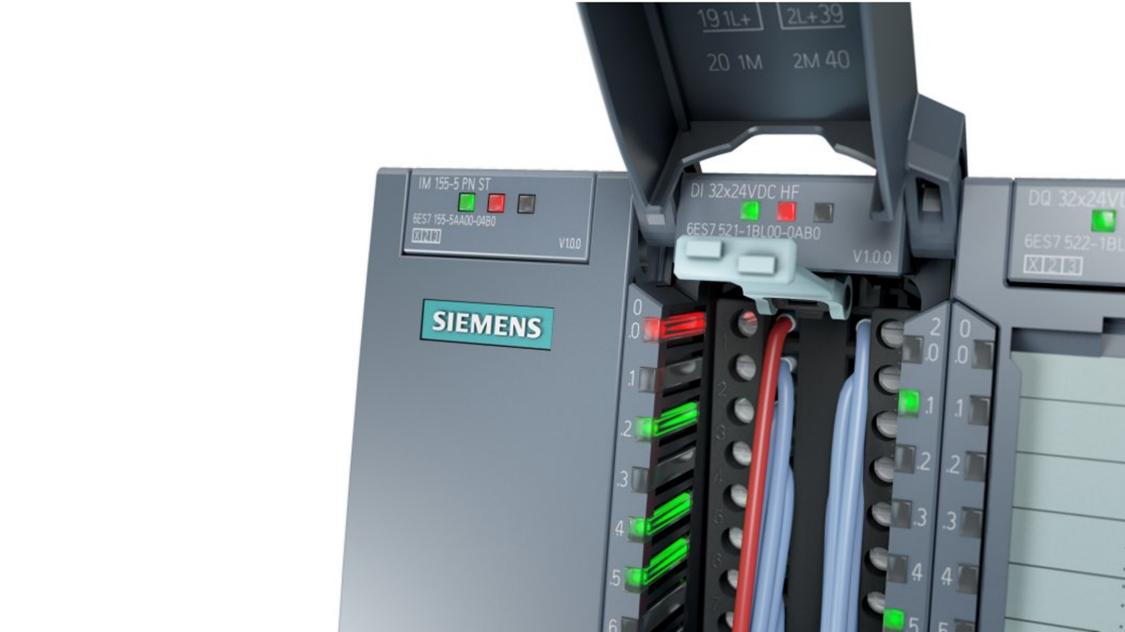 SIMATIC ET 200MP信頼性の高い診断