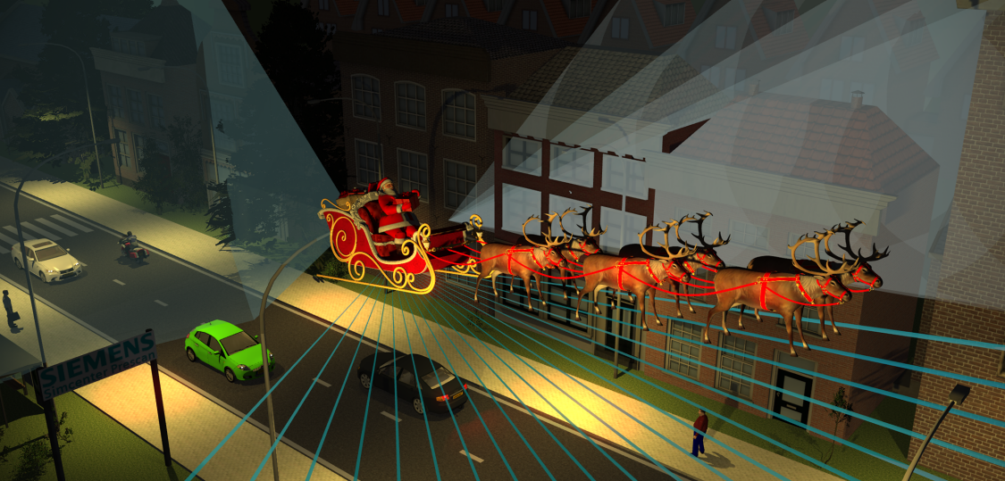 If Santa had an Autonomous Sleigh