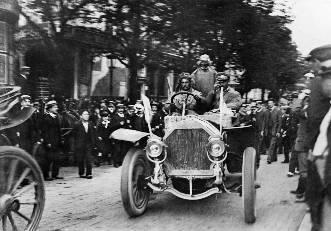 Hans Koeppen's Protos car