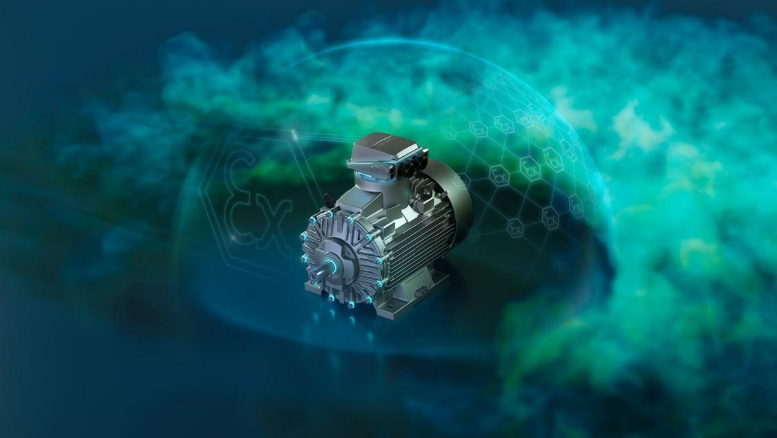 Robbanásbiztos SIMOTICS XP motorok - Maximális biztonság és kiemelkedő hatékonyság