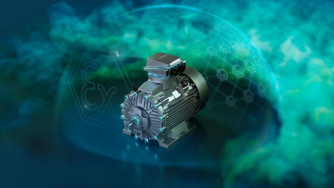 Взрывозащищенные низковольтные электродвигатели SIMOTICS XP