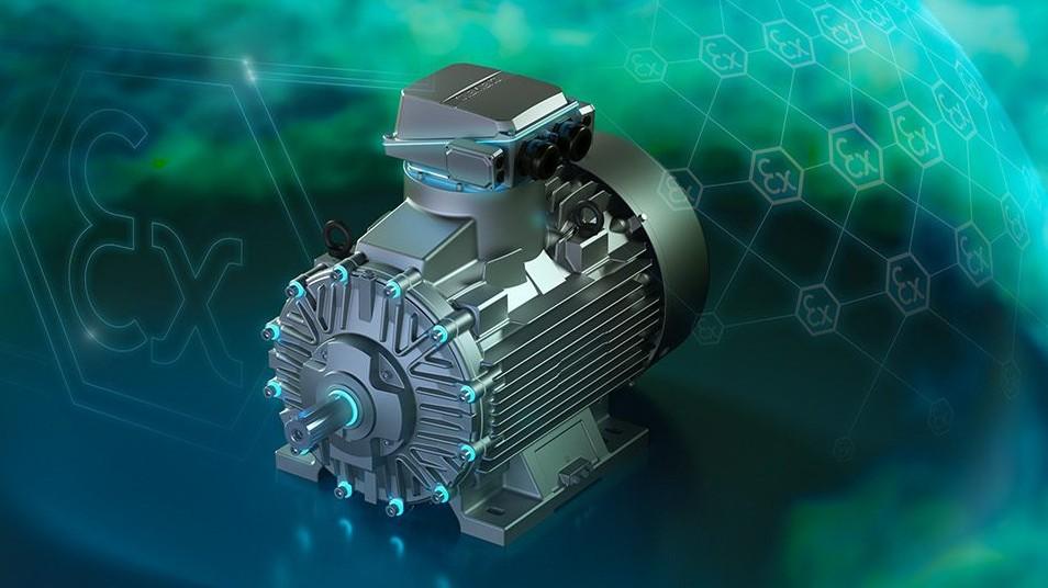 SIMOTICS XP— вибухозахищені електродвигуни низької напруги
