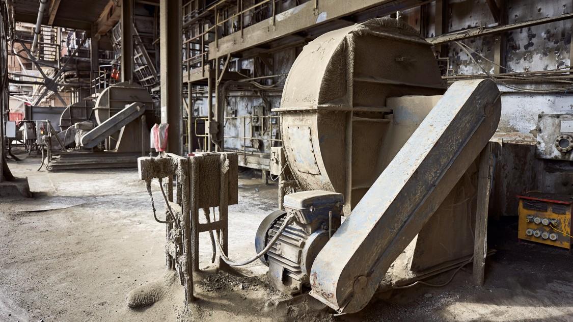Innenansicht von Hanson Cement