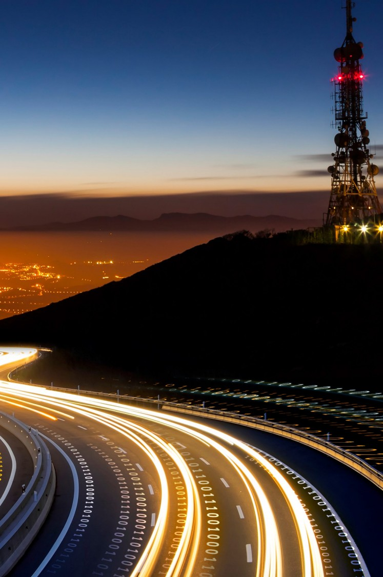 The enterprise-wide data highway