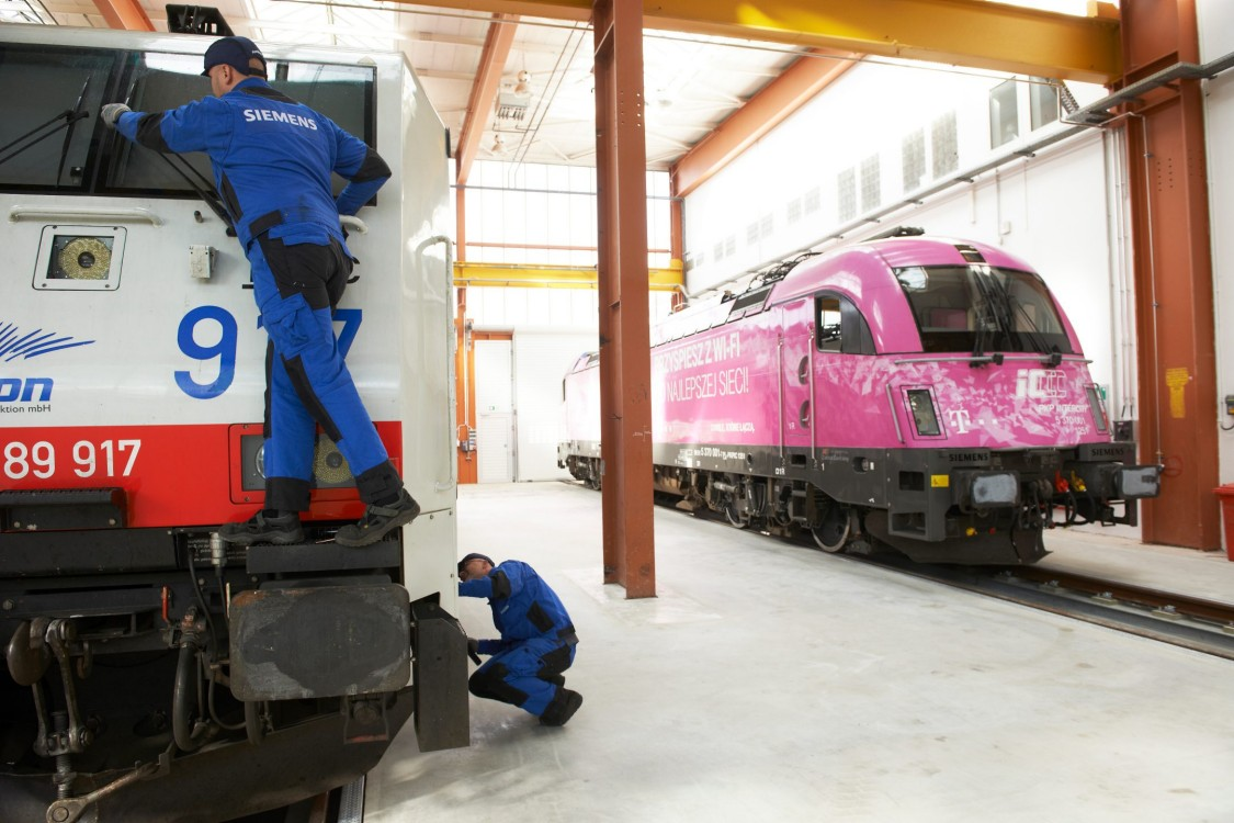 Rail Service Center Monachium-Allach, Niemcy