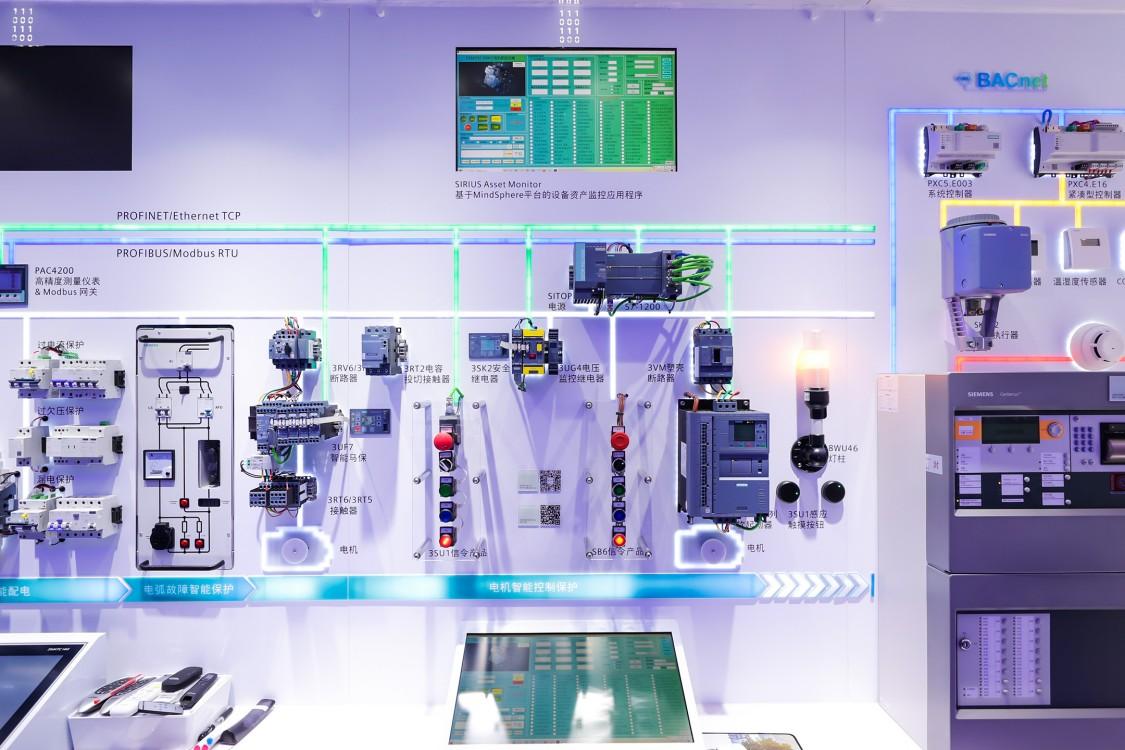 电机智能控制保护板块