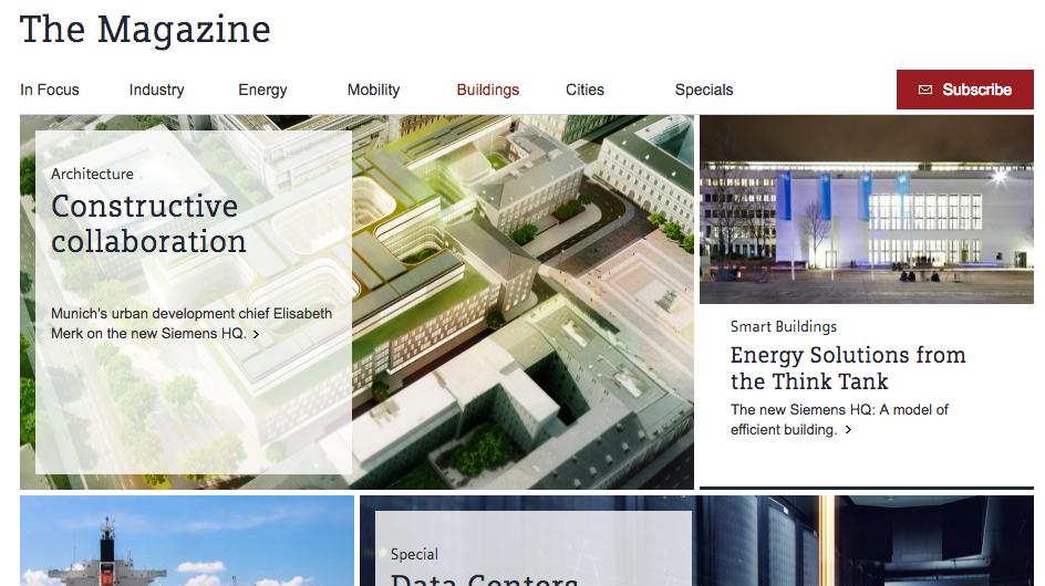 Siemens-Kundenmagazin