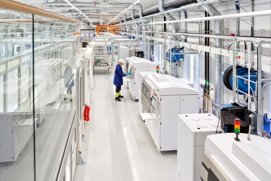 - Tidsspørsmål før vi får denne type fabrikk i Norge, mener Arne Bergun i Siemens.