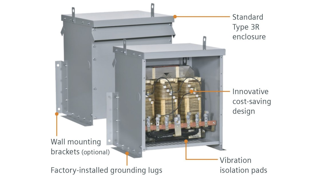Wall Mounted Commercial Transformer