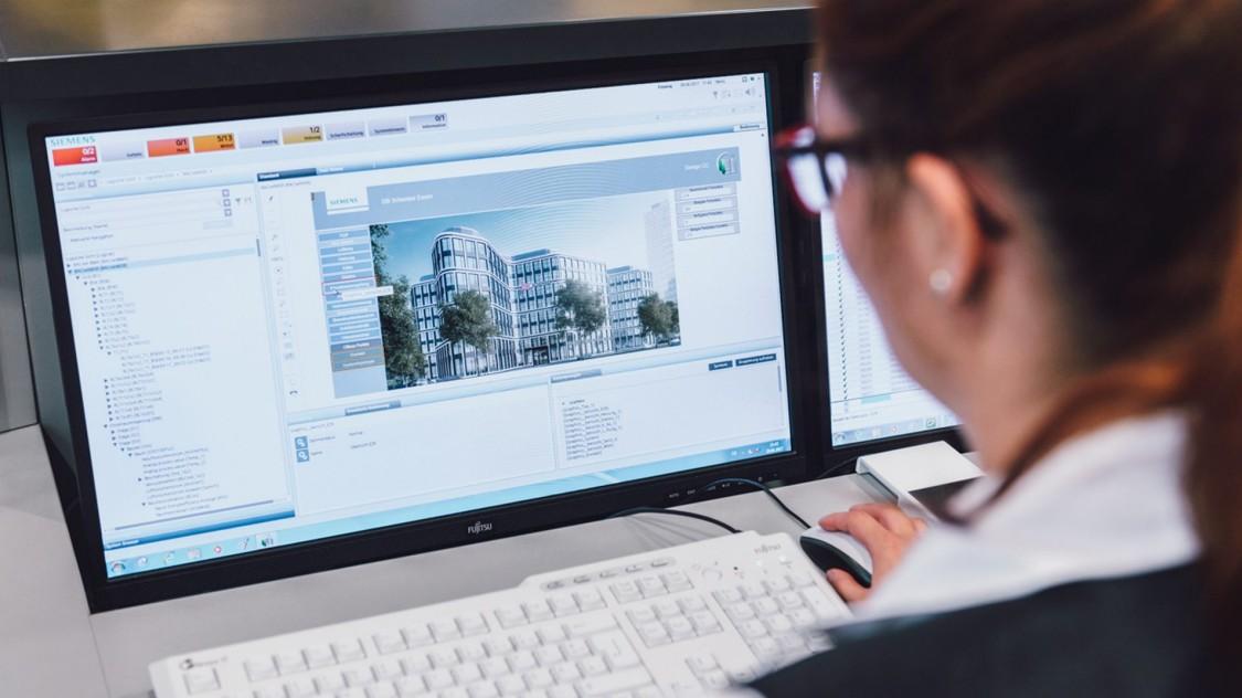 Siemens Gebäudetechnik bei DB Schenker Essen