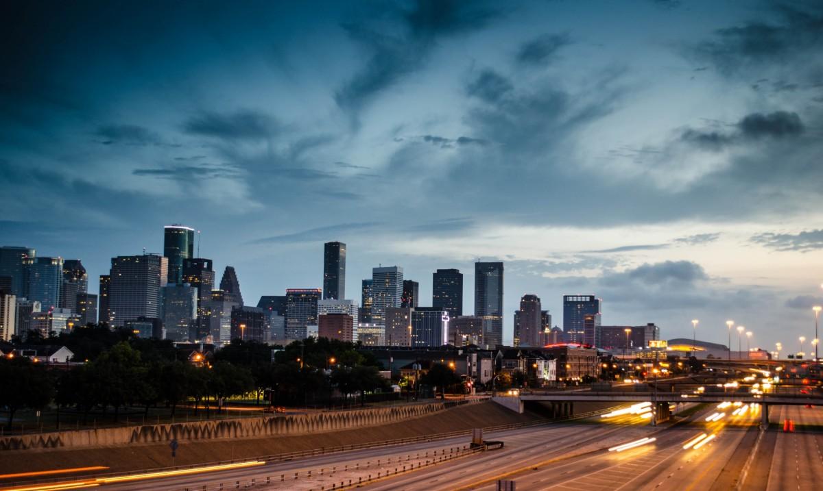 Skyline, Houston, Texas, USA