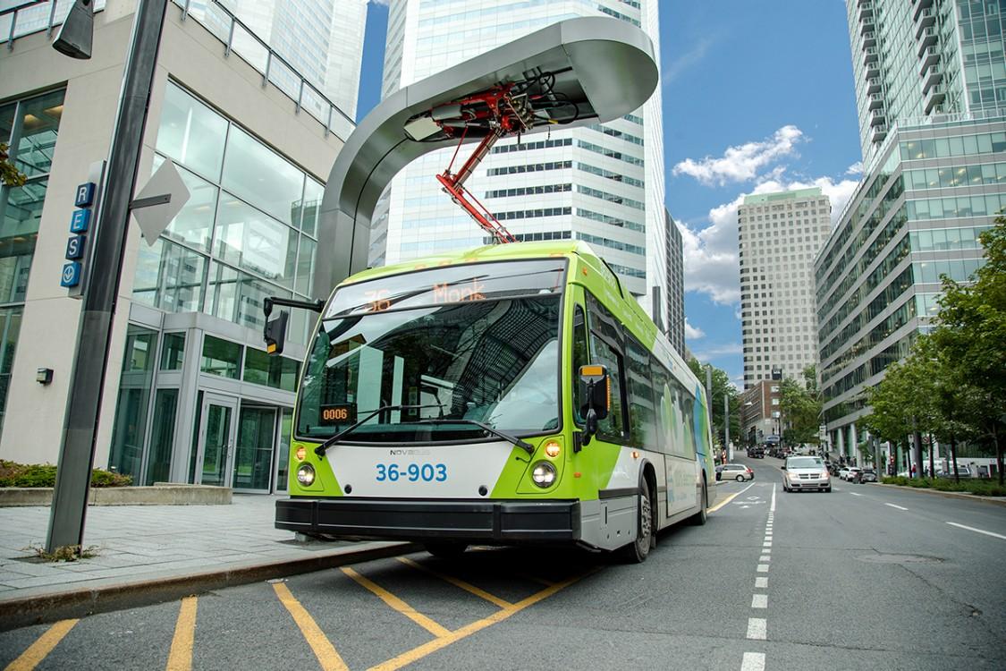 Montreal, Canada Pantograph