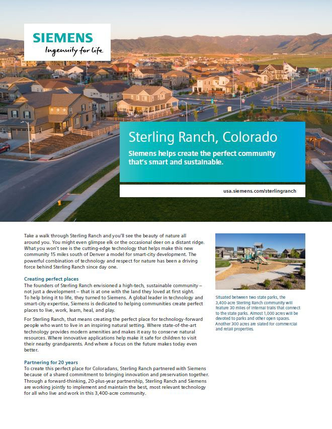 Sterling Ranch Case Study