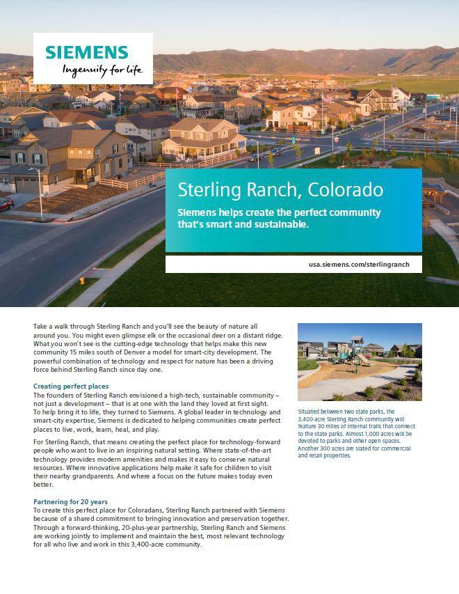 Sterling Ranch Case Study