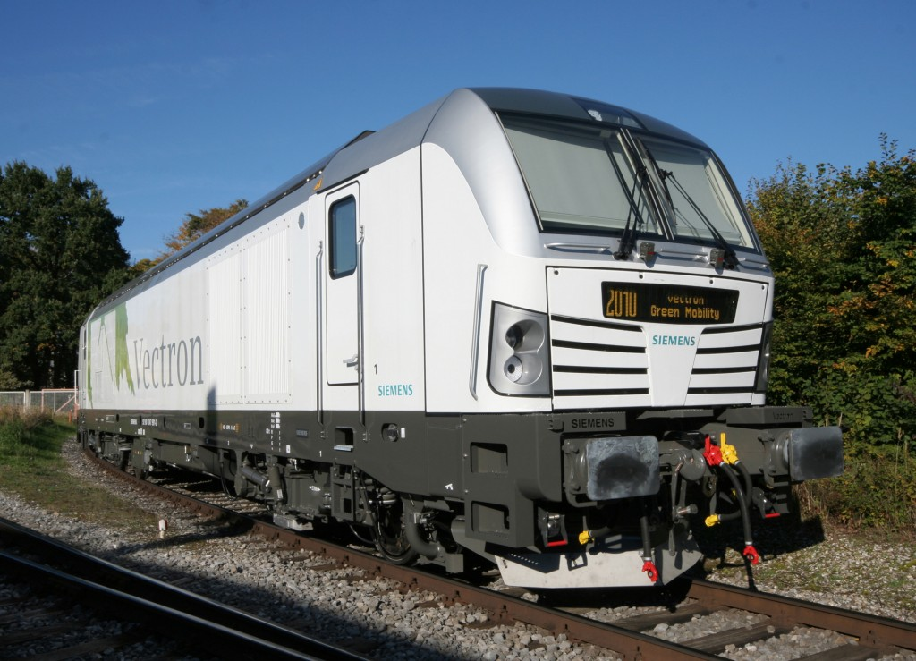 Vectron designed by Siemens - New locomotive-generation suitable for cross-border service