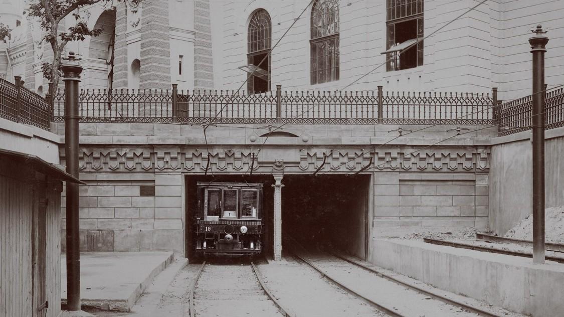 Тунель будапештського метро, 1896 рік