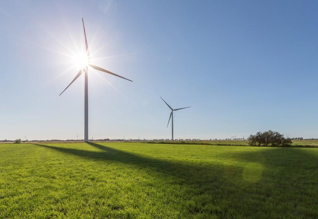 """Siemens D3 Windenergieanlagen f�r den Windpark """"Les Gourlus"""""""