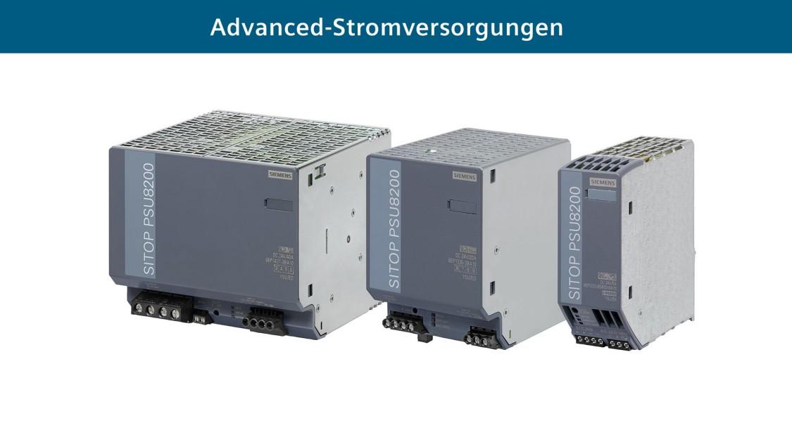 Advanced-Stromversorgungen SITOP PSU8200
