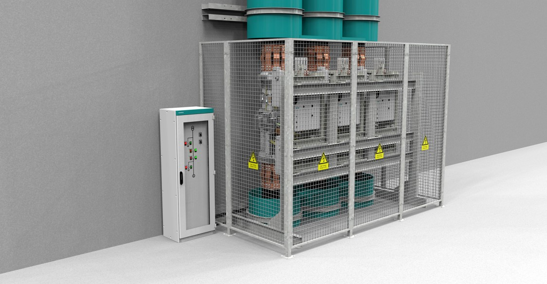 HB3-C system without enclosure up to 110 kA