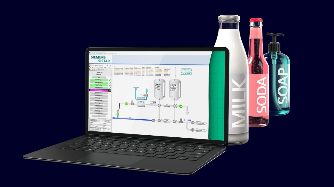 SISTAR is economical, easy to manage, and continuously scalable process automation solution for foodstuff facilities of all sizes