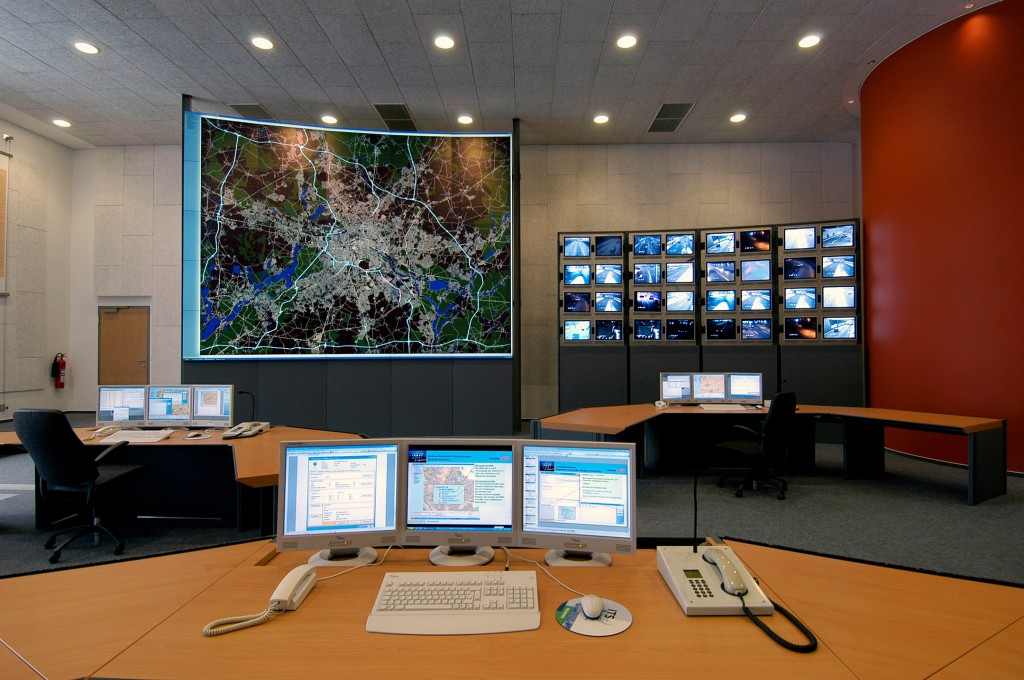 Traffic Control Room in Berlin